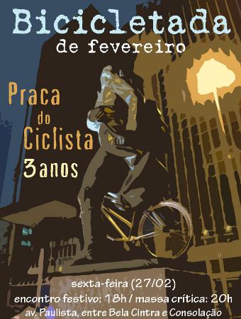 Aniversário da Praça do Ciclista